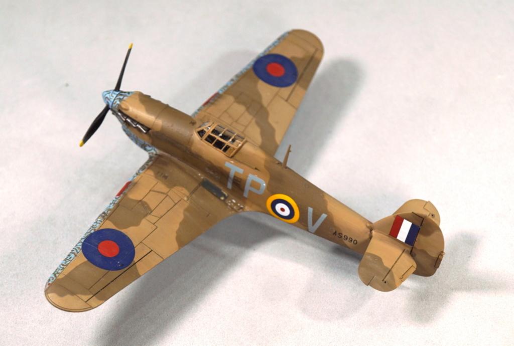 [ARMA HOBBY] Hurricane Mk I metal wing 1/72 -- 73sq Flight B James DENIS (FINI) - Page 9 Arma_941