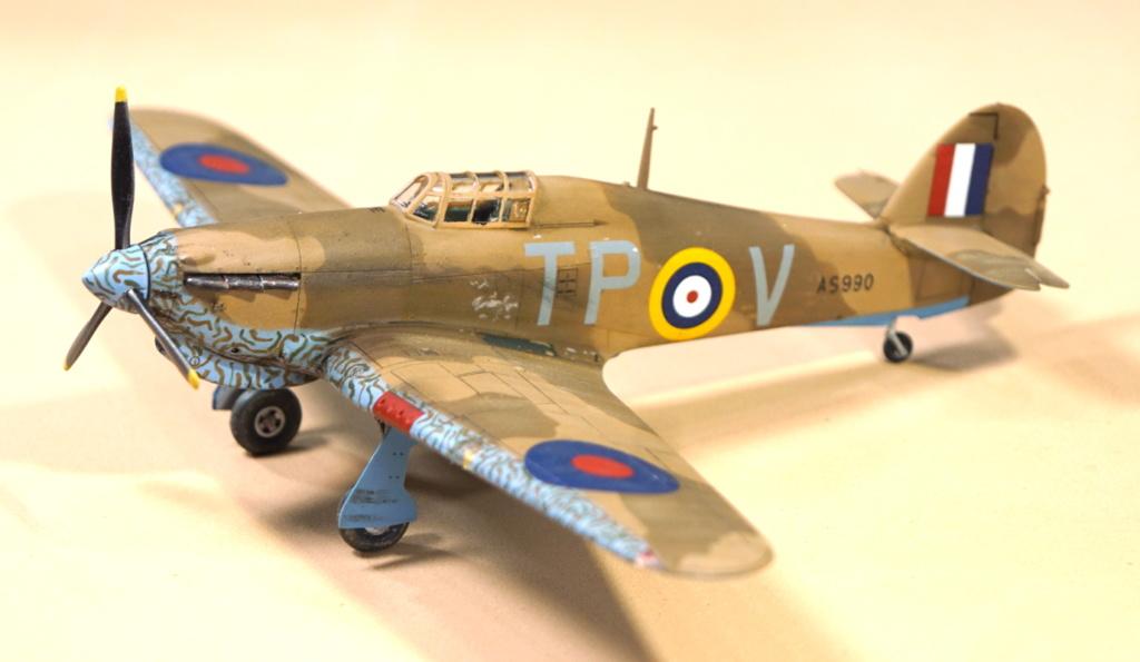 [ARMA HOBBY] Hurricane Mk I metal wing 1/72 -- 73sq Flight B James DENIS (FINI) - Page 9 Arma_945