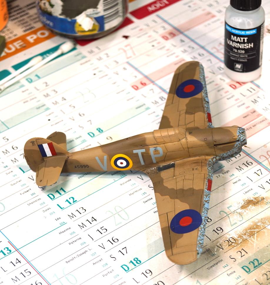 [ARMA HOBBY] Hurricane Mk I metal wing 1/72 -- 73sq Flight B James DENIS (FINI) - Page 9 Arma_d13