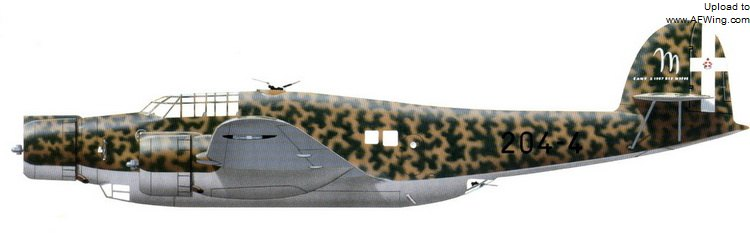 1/72 SUPERMODEL: CANT Z.1007Bis FAFL LAM ...   Cant_211