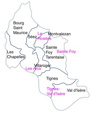 Espace Killy, La Rosière, Sainte-Foy, Vanoise - Portail Haute-11