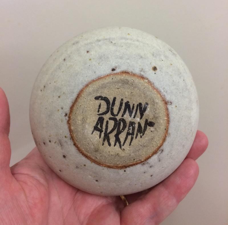 Alasdair Dunn, Arran pottery Img_8119