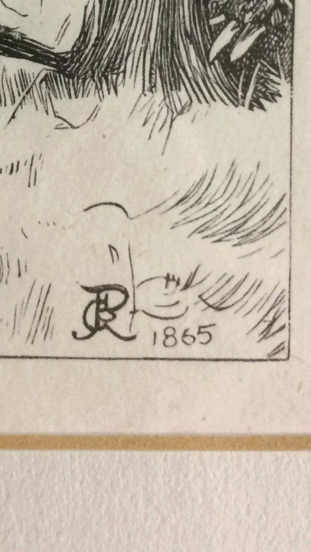 Vintage print - signature? Img_8616