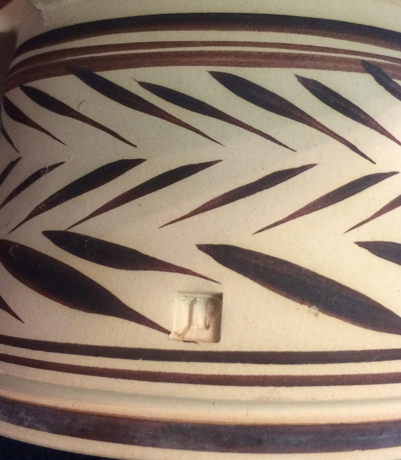 Unknown vase - JP mark Img_8722