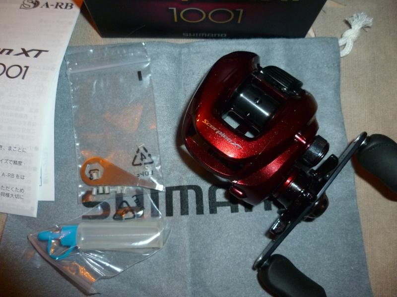 Quel moulinet pour une casting 5-21 - Shimano XT scorpion 1001 - Page 2 P1040420