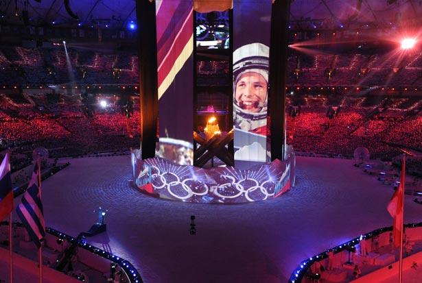 Jeux Olympiques Sotchi 2014 et l'espace 0110