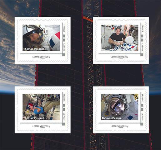 Mission Proxima de Thomas Pesquet - Émission philatélique de La Poste 10626511