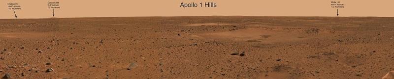 10ème anniversaire de l'arrivée du rover Spirit sur Mars - 3 janvier 2004 1100px10