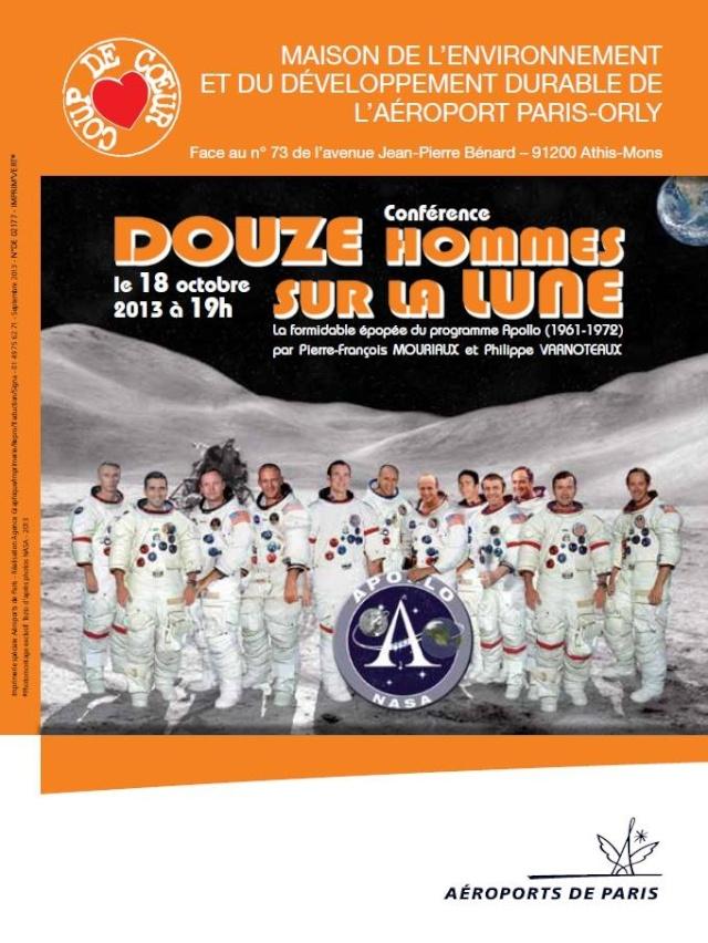 """18 octobre 2013 - Conférence """"Douze hommes sur la Lune"""" à Orly / Athis-Mons 13804110"""