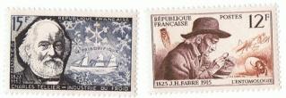 Philatélie spatiale France - 1956 - Camille Flammarion 1956_010