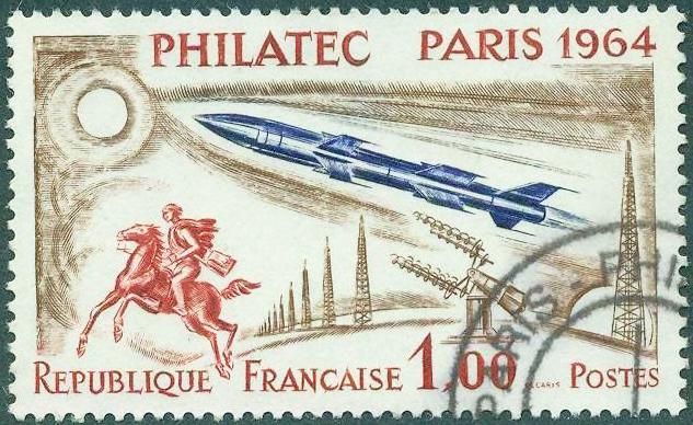 Les timbres spatiaux d'Albert Decaris  1964_011
