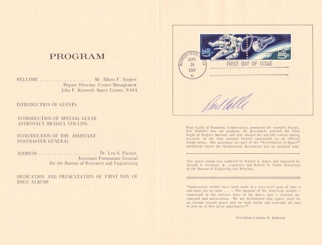 Philatélie Spatiale USA - 1967 - Projet Gemini 1967_012