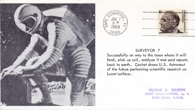 Le programme Surveyor en astrophilatélie 1968_010