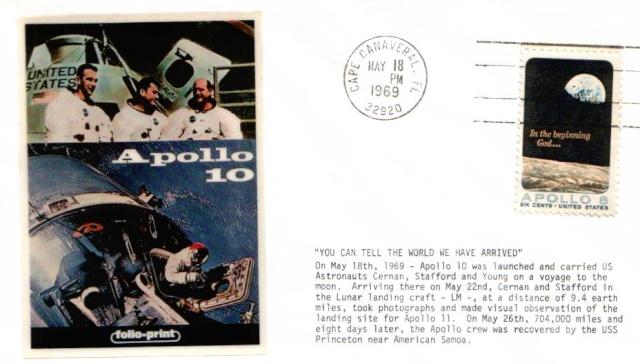 [Astrophilatélie] 45ème anniversaire de la mission Apollo 10 1969_010