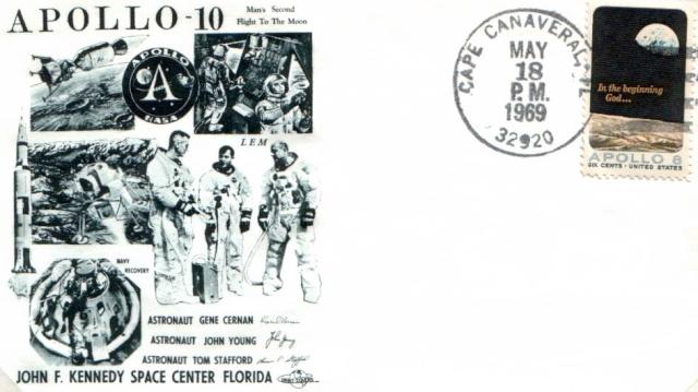 [Astrophilatélie] 45ème anniversaire de la mission Apollo 10 1969_011