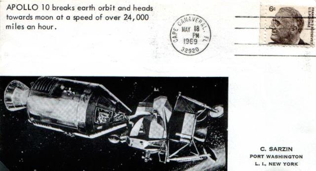 [Astrophilatélie] 45ème anniversaire de la mission Apollo 10 1969_013