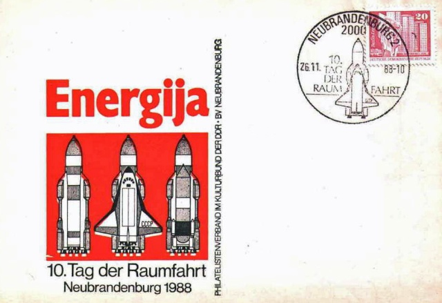 La navette russe Bourane en philatélie 1988_113