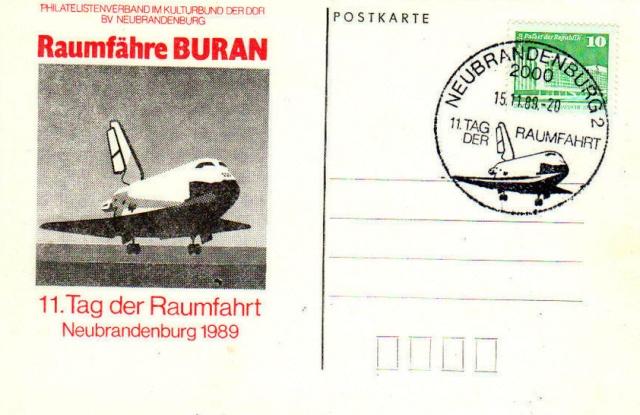 La navette russe Bourane en philatélie 1989_110