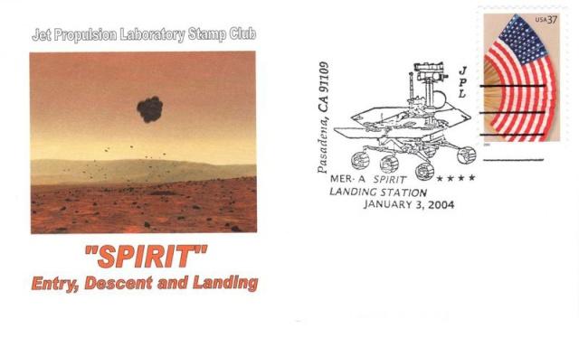 10ème anniversaire de l'arrivée du rover Spirit sur Mars - 3 janvier 2004 2004_210