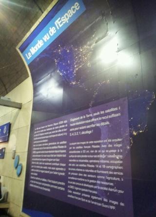 [Photos] Exposition - Le Monde vu de l'Espace par le CNES et la RATP 20131010