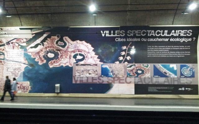 [Photos] Exposition - Le Monde vu de l'Espace par le CNES et la RATP 20131011