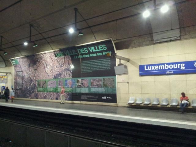 [Photos] Exposition - Le Monde vu de l'Espace par le CNES et la RATP 20131012