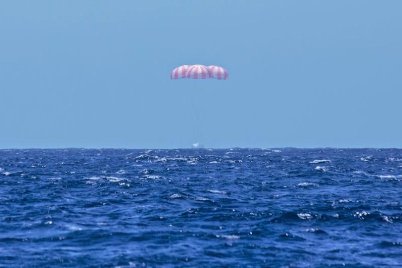 SpaceX - Vol Falcon 9 - Dragon CRS-3 (18 avril au 18 mai 2014) 20140512