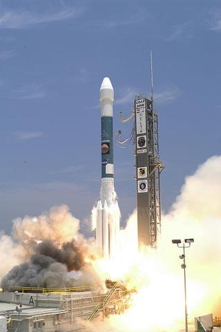 10ème anniversaire de l'arrivée du rover Spirit sur Mars - 3 janvier 2004 399px-10