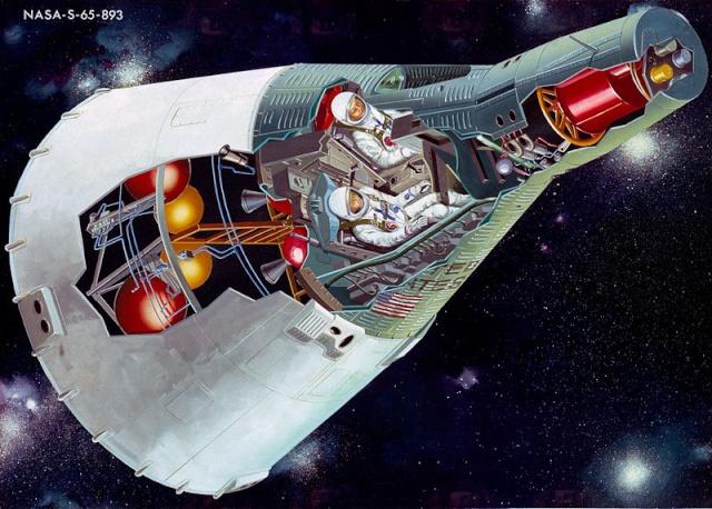 Programme Gemini (autres que les missions) - Rares Documents, Photos, et autres ... 800px-17
