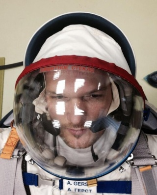 Vol spatial d'Alexander Gerst / Expedition 40 et 41 - BLUE DOT / Soyouz TMA-13M Alexan10