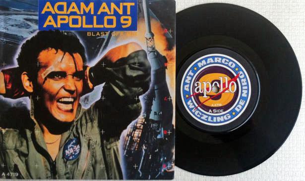 Apollo 9 et le chanteur Adam Ant Apollo18