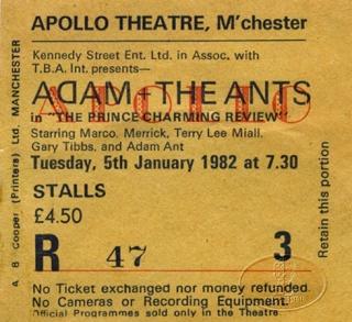 Apollo 9 et le chanteur Adam Ant Apollo20