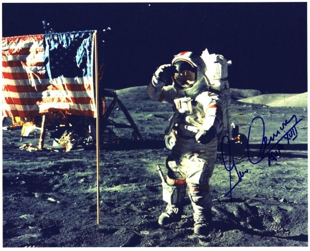 80ème anniversaire de Gene Cernan Apollo21