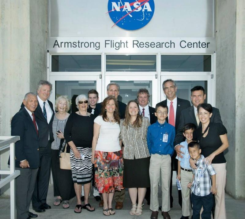 13 mai 2014 - Inauguration officielle du NASA Armstrong Flight Research Center Armstr14