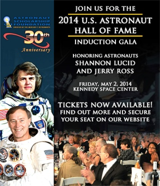 Astronaut Hall of Fame Induction - 2 et 3 mai 2014 Astron12