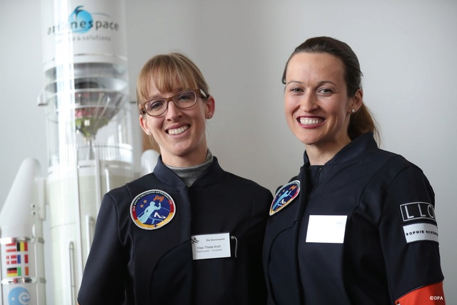 Sélection des deux ''Astronautin'' / 19 avril 2017 Astron13