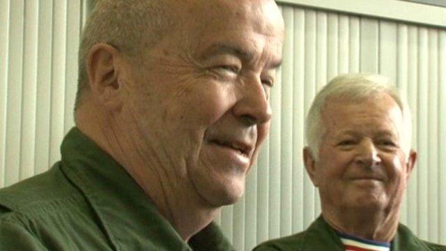 Jean-Loup Chrétien et Patrick Baudry, nouveaux parrains de la Patrouille de France 2014 Baudry10