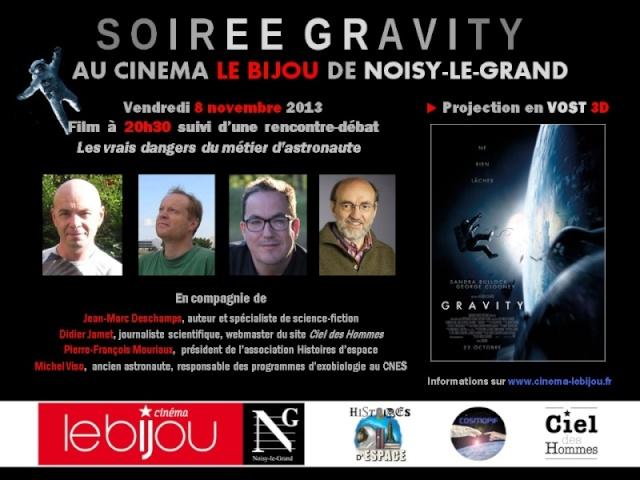 8 novembre 2013 - Ciné débat autour de Gravity au Bijou de Noisy le Grand (93) Bijou110