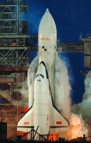 15 novembre 1988 - Décollage de la navette spatiale Bourane - 25 ans Buran10