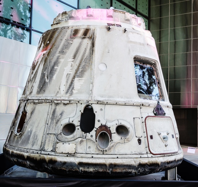 Visite d'une capsule Dragon de SpaceX - Reportage spécial Dragon10