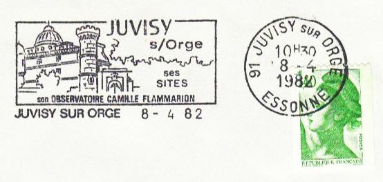Philatélie spatiale France - 1956 - Camille Flammarion Flamma13