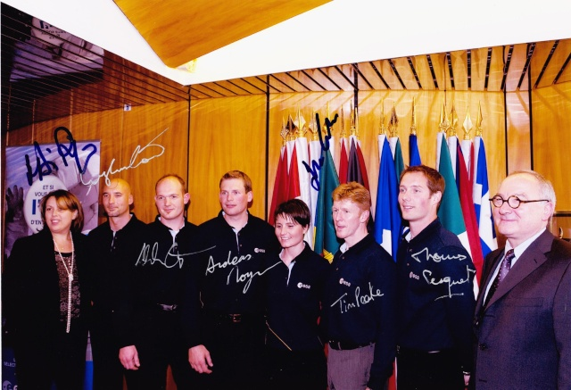 20 mai 2009 - 5ème anniversaire de la nouvelle sélection des astronautes ESA Groupe10