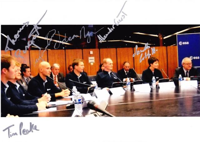 20 mai 2009 - 5ème anniversaire de la nouvelle sélection des astronautes ESA Groupe11