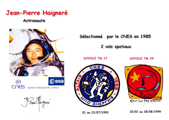[Ciel & Espace] Interview de Jean-Pierre Haigneré Missions et Gravity Haigne11
