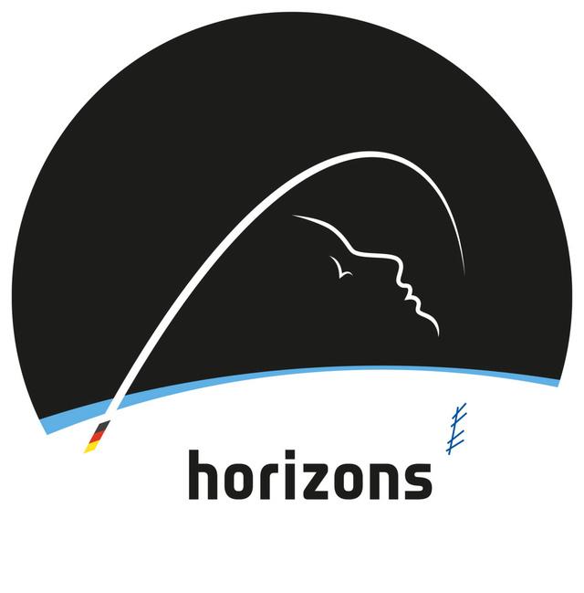 Logo et nom de la mission d'Alexander Gerst en 2018 Horizo10