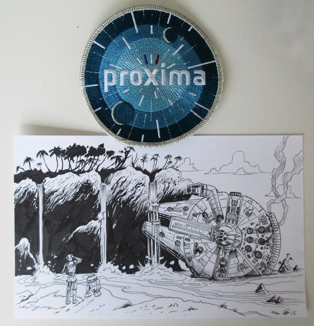 Mission Proxima - Encouragements à Thomas Pequet / #AllezThomas #Proxima - Page 8 Img_3810