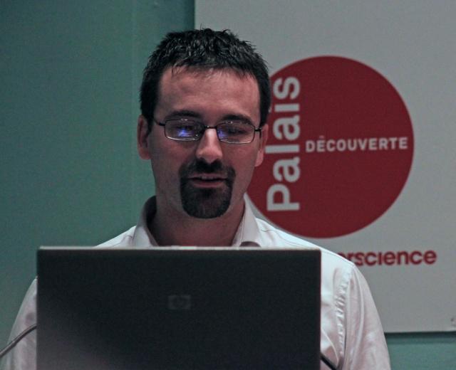 7 novembre 2013 - Conférence sur Mars / Palais de la Découverte (avec Francis Rocard, Romain Charles et Sylvie Vauclair) Img_4611