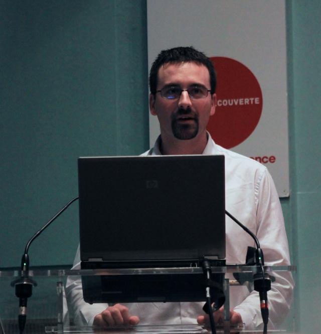 7 novembre 2013 - Conférence sur Mars / Palais de la Découverte (avec Francis Rocard, Romain Charles et Sylvie Vauclair) Img_4612