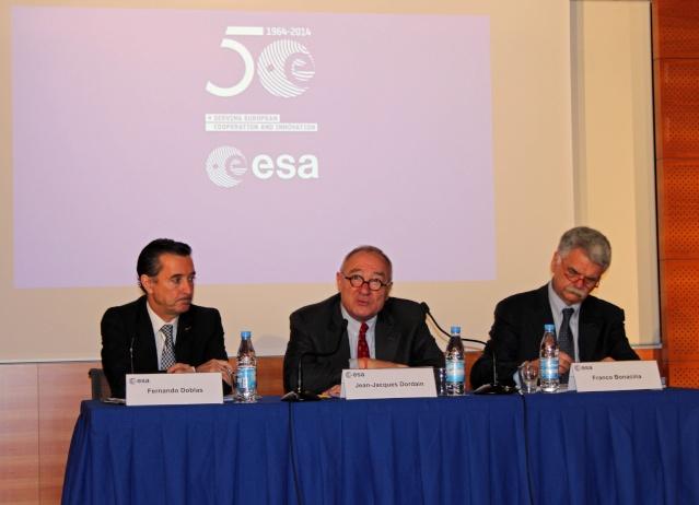 17 janvier 2014 - Conférence de Presse de Jean-Jacques Dordain, directeur de l'ESA Img_5113