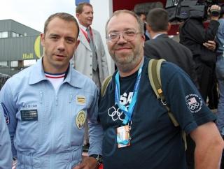 Jean-Loup Chrétien et Patrick Baudry, nouveaux parrains de la Patrouille de France 2014 Img_9310
